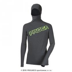 Pánský sportovní pulovr s kapucí FOCUS