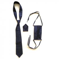 Manažerská sada - kravata, rouška, kapesníček